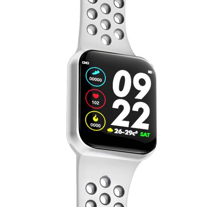 Relogio Bluetooth Smartwatch F8 Medidor Pulso Freqüência Cardíaca Pulseira Encaixável