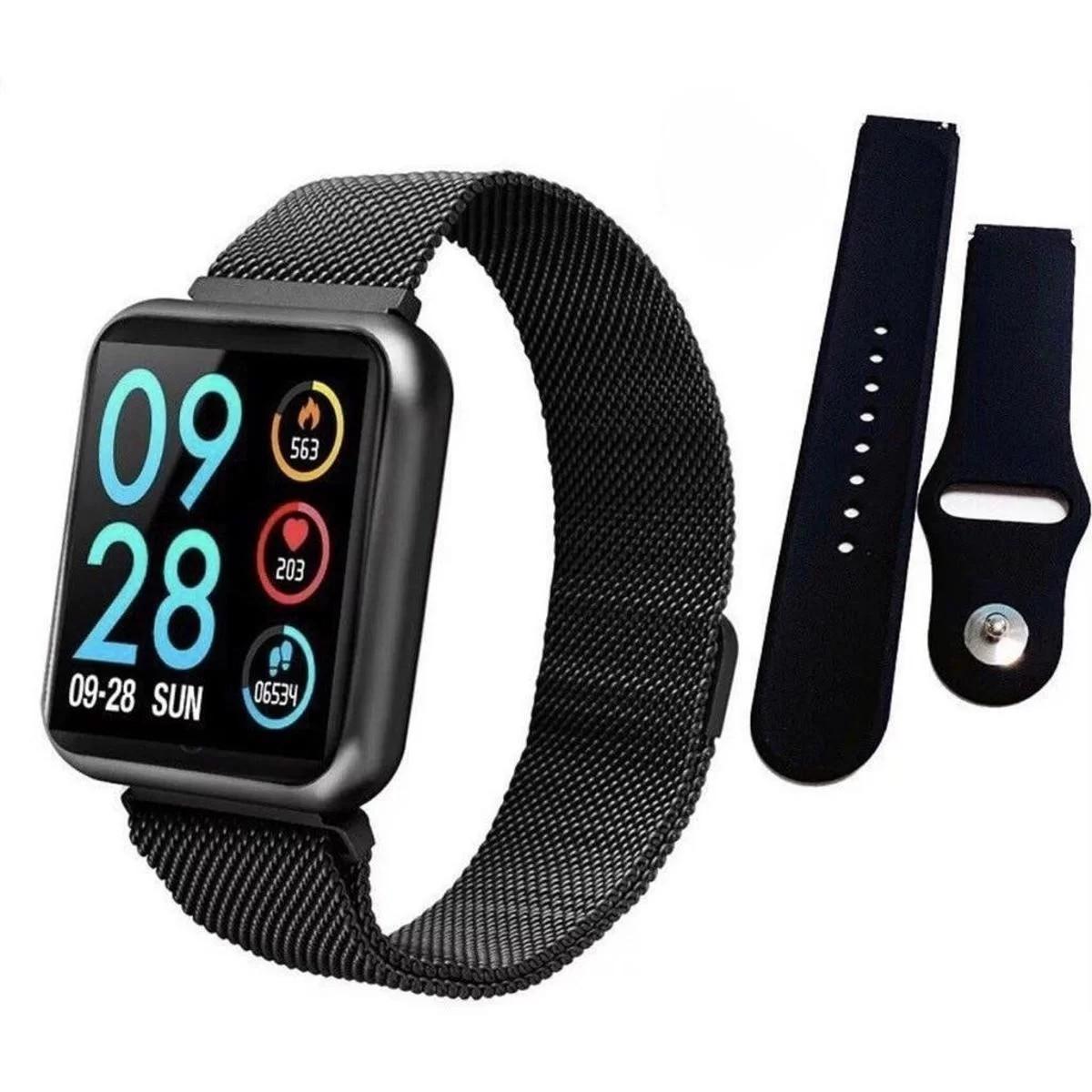 Relógio Smartwatch Inteligente P80 Sport Prova Dágua