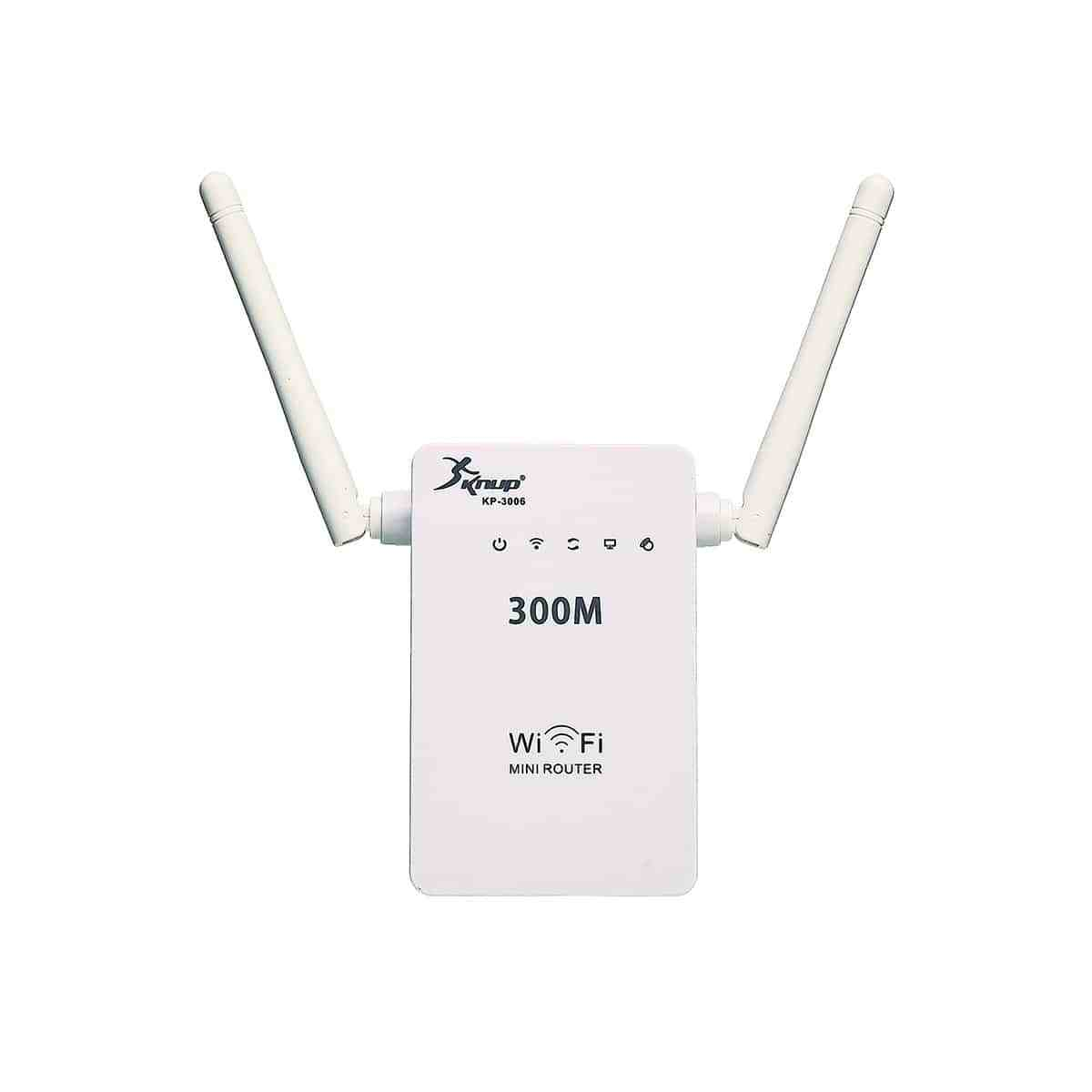 Repetidor Wifi Extensor 2 Antenas 300mbps Knup KP-3006