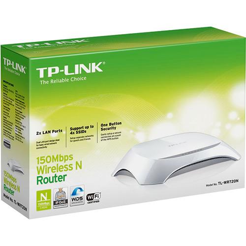 Roteador TP-Link Wireless 150 Mbps TL-WR720N TPLINK