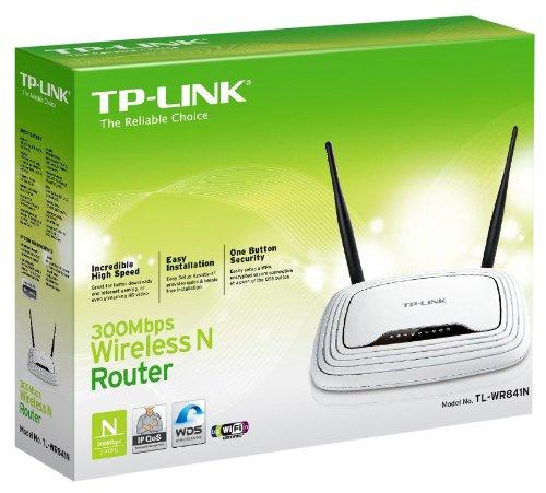 Roteador TP-Link Wireless 300Mbps TL-WR841N 802.11b/g/n TPLINK