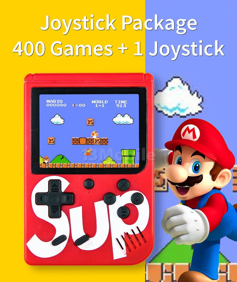 Super Game Box 400 Jogos Retro Grande MultiPlayer c/ Joystick