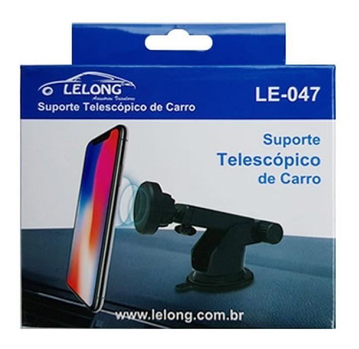 Suporte Celular magnetico Universal Veicular Le-047 - It-Blue