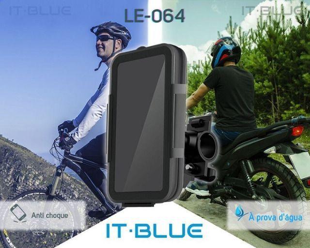 Suporte Celular para moto e bicicleta It-Blue  LE-064