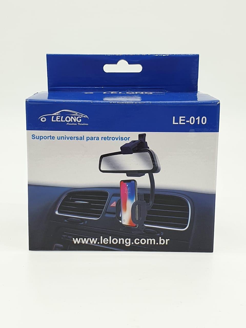 Suporte Celular Retrovisor Veicular It-Blue LE-010
