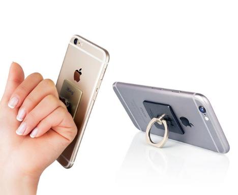 Suporte Pocket Socket Pop Anel Cromado Celular Universal