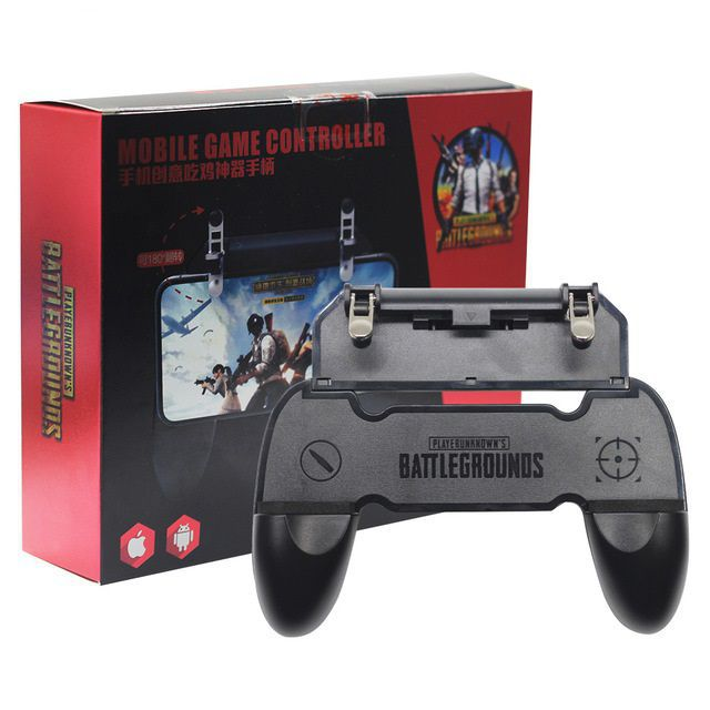 Kit 3x Suporte + Gatilho All In One Gamepad Game Handle P/ Celular