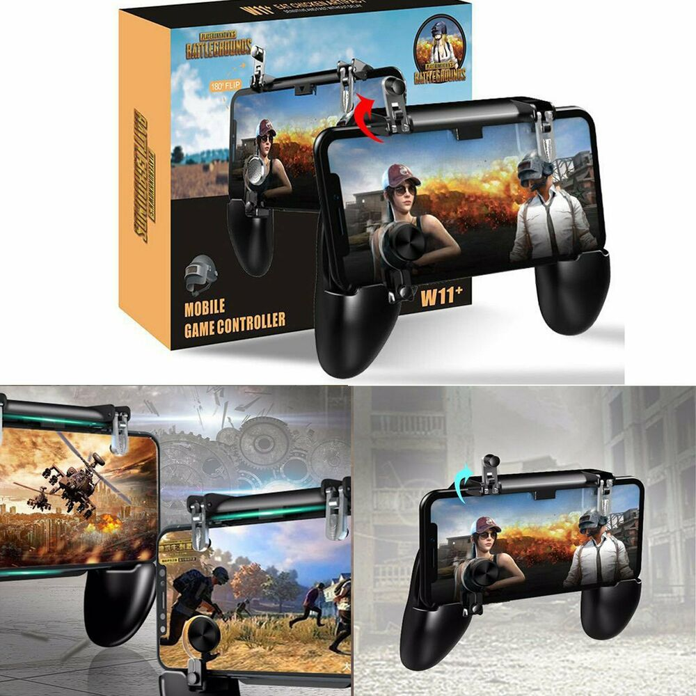 Suporte + Gatilho All In One Gamepad Game Handle P/ Celular W11+