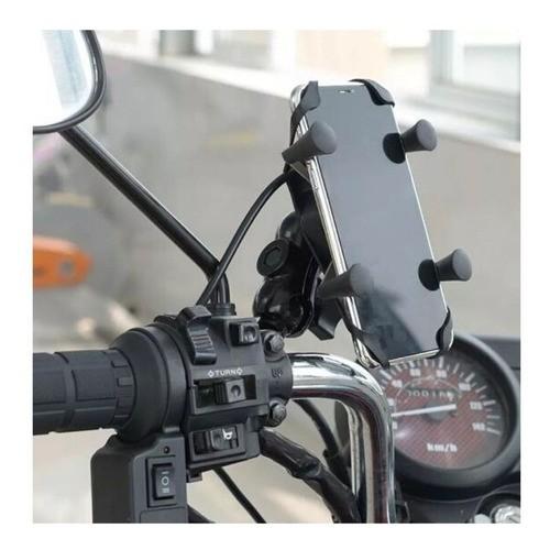 Suporte Moto C/ Chicote KNUP CD-3072