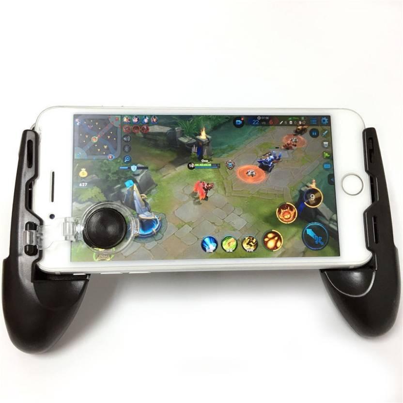 Suporte Gamepad Preto Para Celular Pubg Freefire Game Handle 3x1