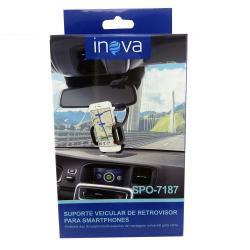 Suporte Veicular de Retrovisor para Smartphone Inova SPO-7187