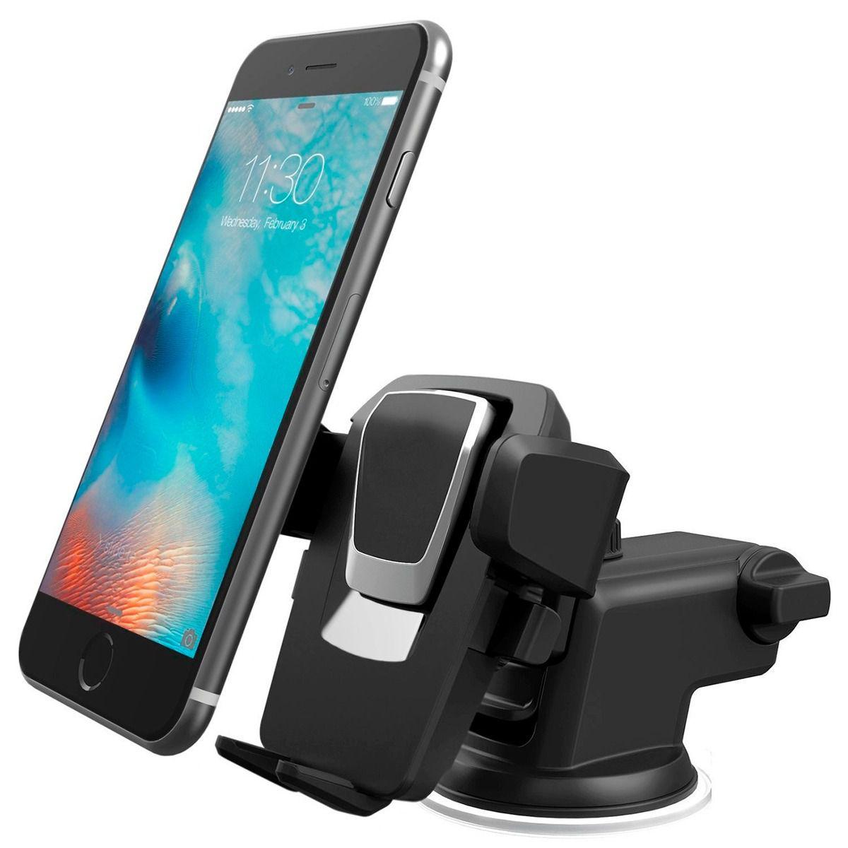 Suporte Veicular para Smartphone Telescópico GPS LE-042