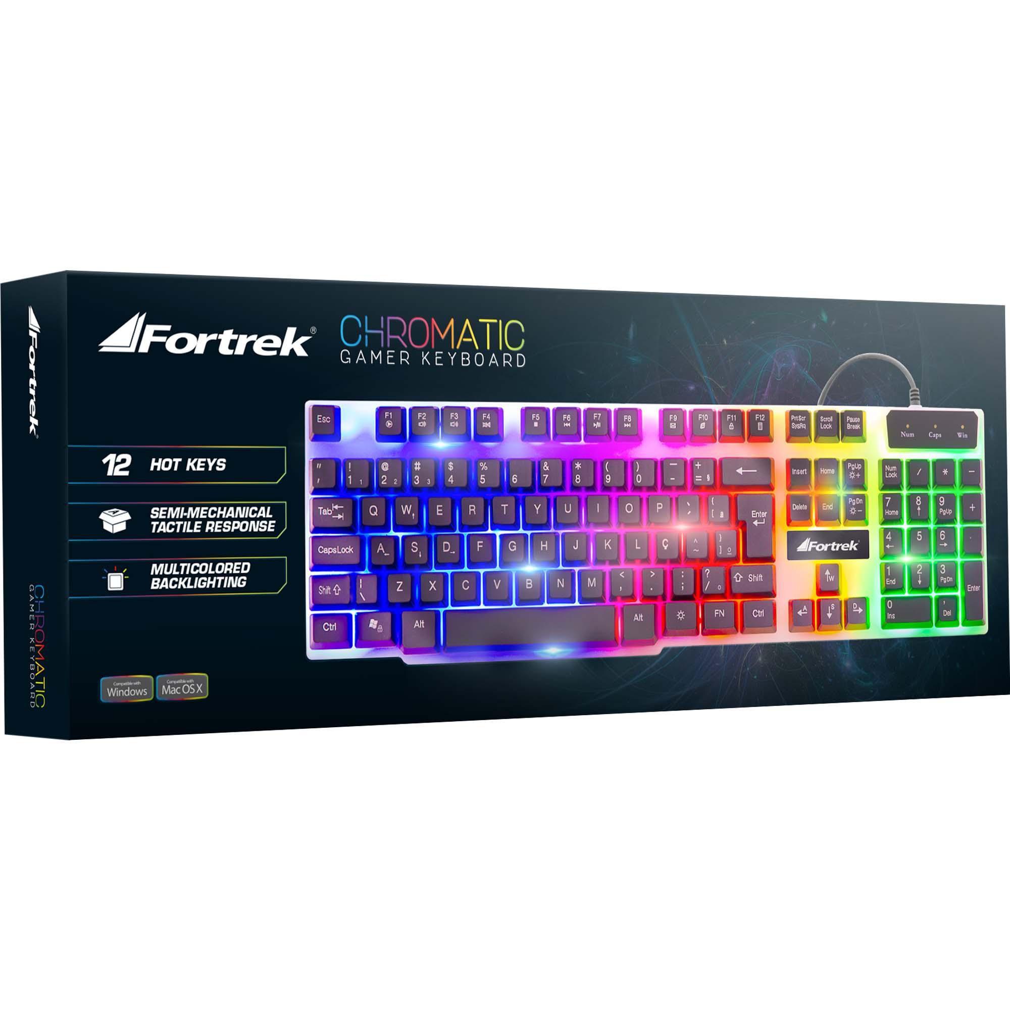 Teclado Fortrek Gamer CHROMATIC GK710