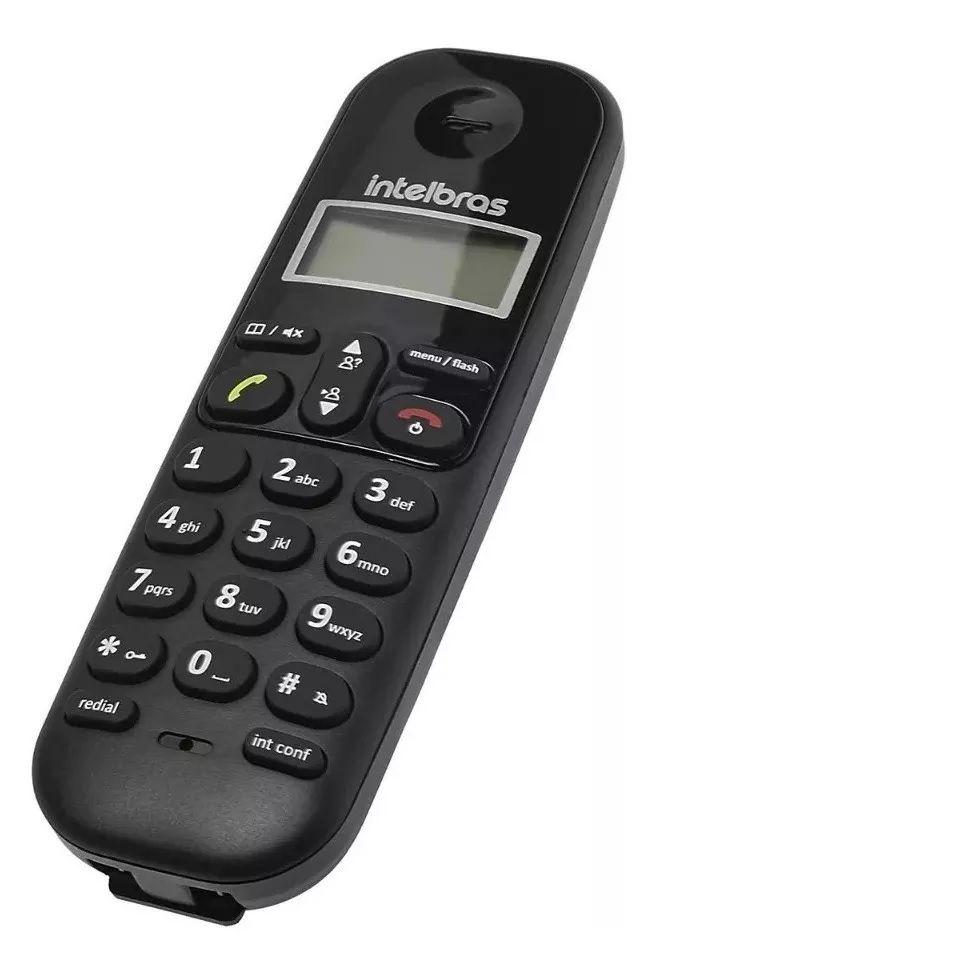 Telefone Sem Fio Intelbras Ts3112 Digital Com Ramal Adicional