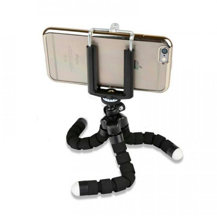 Tripé Flexível Articulável Grande (25CM) Suporte Celular Câmera