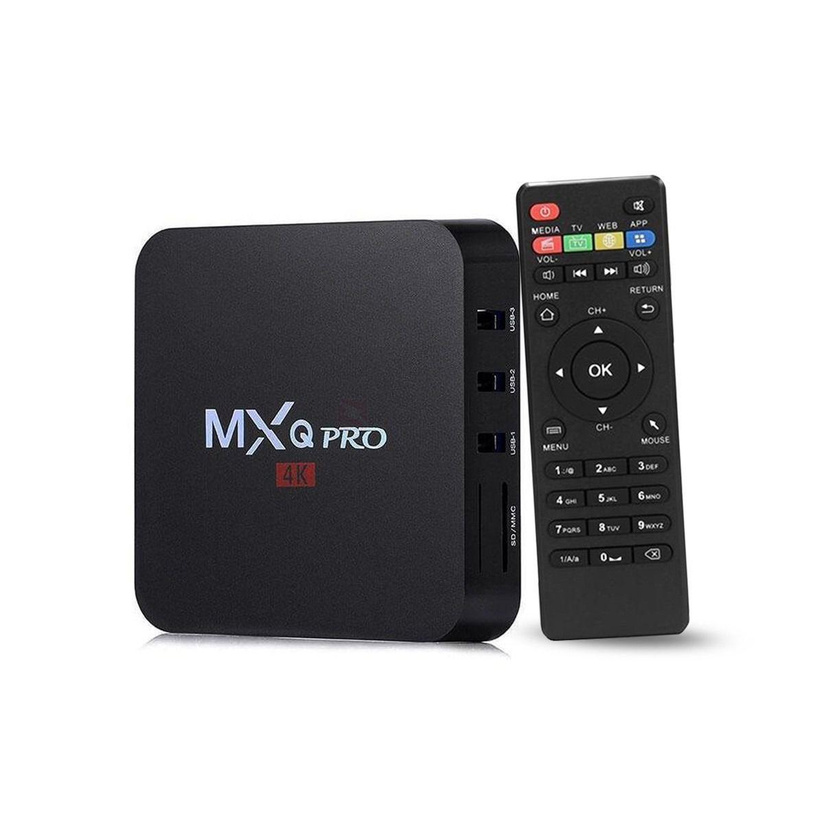 Tv box MXQ PRO 4K 4G + 64G Android 10.1 Wifi