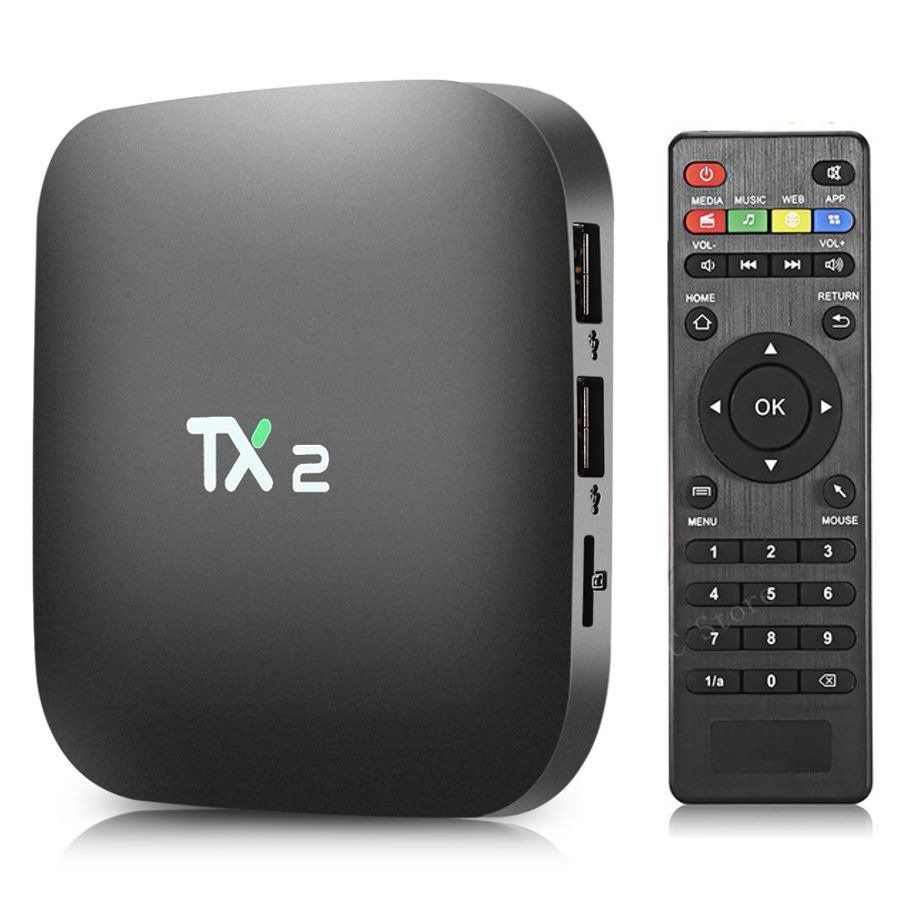 TV Box TX2 2GB QUAD-CORE Android c/ Controle