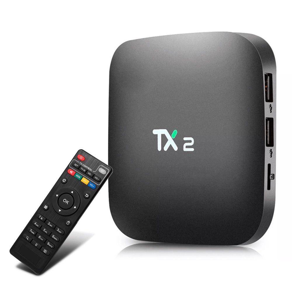 TV Box TX2 2GB QUAD-CORE Android c/ Controle