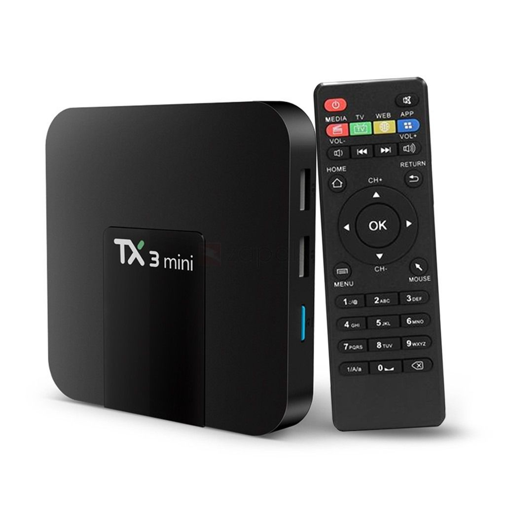 TV Box TX3 Mini Android c/ Controle