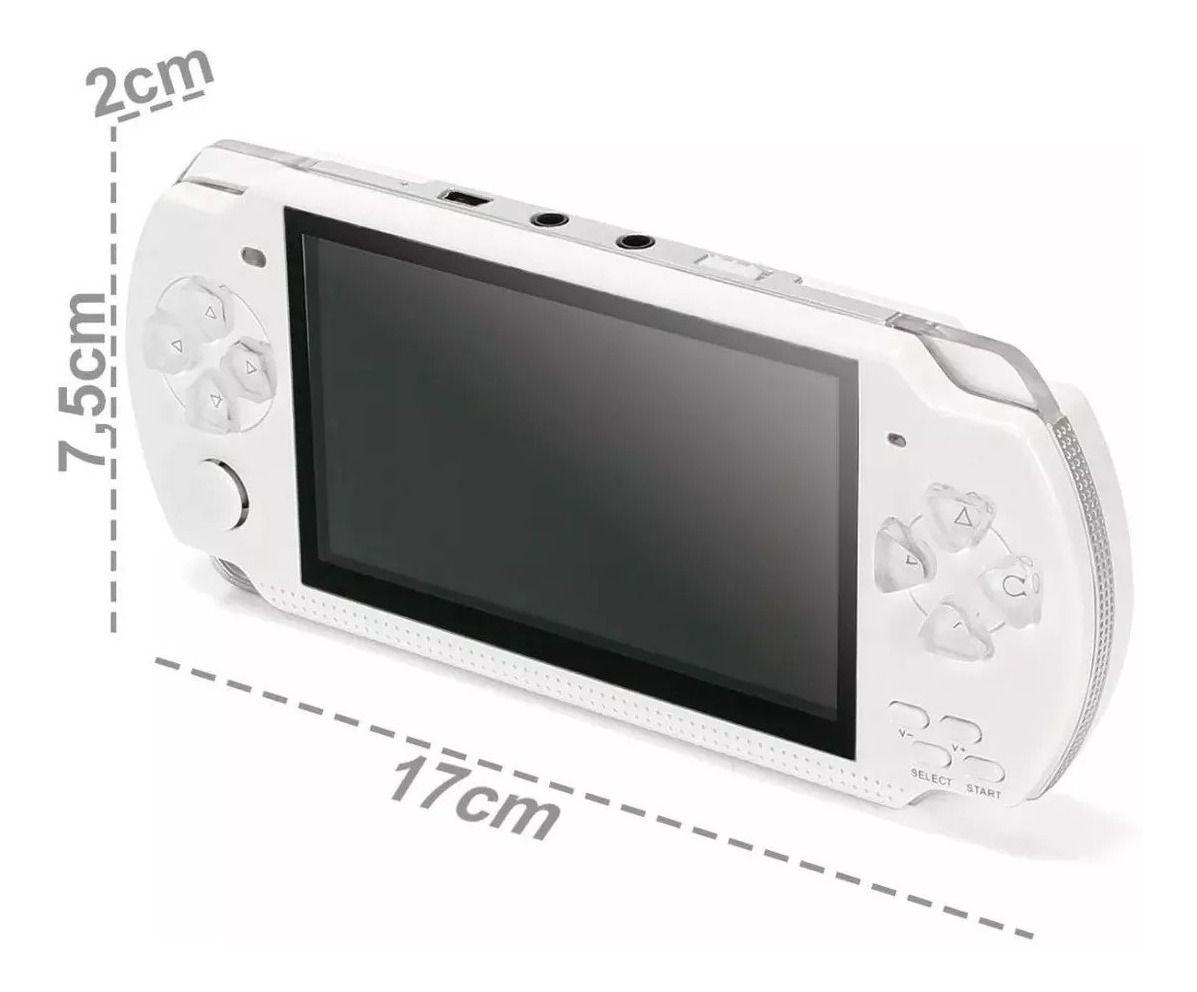 Videogame Portátil MP5/8 C Camera 8GB Expansível Micro SD EONY A-7288