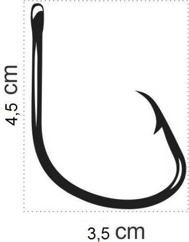 Anzol Mutsu Circle Hook Nº 8/0 Black - Marine Sports - 10 Peças  - Life Pesca - Sua loja de Pesca, Camping e Lazer