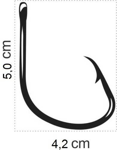 Anzol Mutsu Circle Hook Nº 10/0 Black - Marine Sports - 10 Peças  - Life Pesca - Sua loja de Pesca, Camping e Lazer
