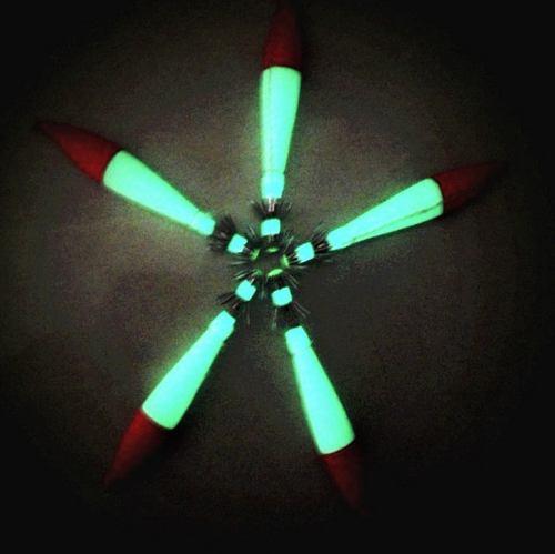 Kit 10 Zangarilhos Fluorescente Para Pesca De Lulas E Polvos  - Life Pesca - Sua loja de Pesca, Camping e Lazer