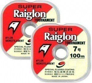 Linha Mono Raiglon 0,810mm 95lbs/43,72kg Branca - 100 Metros  - Life Pesca - Sua loja de Pesca, Camping e Lazer