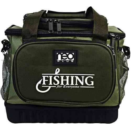 Bolsa De Pesca Marine Sports Neo Plus Fishing Bag Verde  - Life Pesca - Sua loja de Pesca, Camping e Lazer