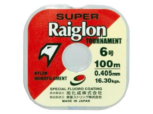 Linha Monofilamento Super Raiglon 0,205mm 10,9lb/4,95kg - 100 Metros  - Life Pesca - Sua loja de Pesca, Camping e Lazer