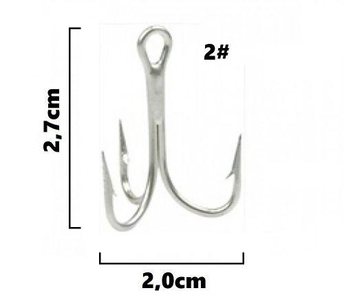 Garateia Marine Sports N° 2 (2,7cm) - Caixa 100 Peças  - Life Pesca - Sua loja de Pesca, Camping e Lazer