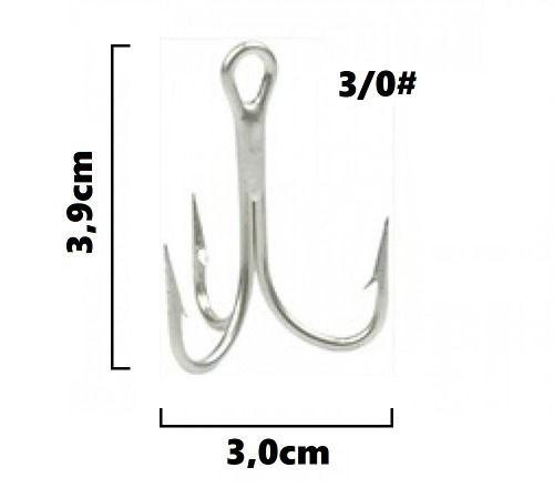 Garateia Marine Sports N° 3/0 (3,9cm) - Caixa 100 Peças  - Life Pesca - Sua loja de Pesca, Camping e Lazer