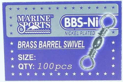 Girador Bbs-ni Nº 5 Nickel 2,1cm - Marine Sports - 100 Peças  - Life Pesca - Sua loja de Pesca, Camping e Lazer