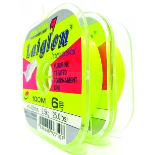 Linha Monofilamento Laiglon 0,37mm 20lbs/10,0kg - 100 Metros  - Life Pesca - Sua loja de Pesca, Camping e Lazer