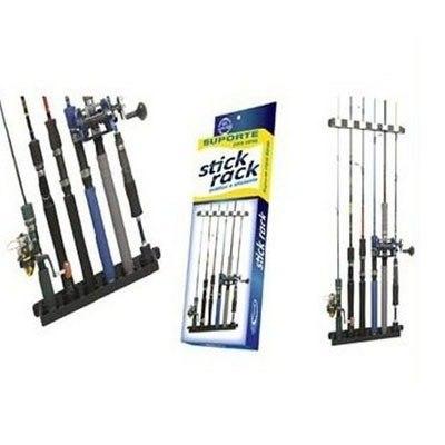 Suporte (Expositor) De Parede P/ Varas De Pesca - Stick Rack  - Life Pesca - Sua loja de Pesca, Camping e Lazer