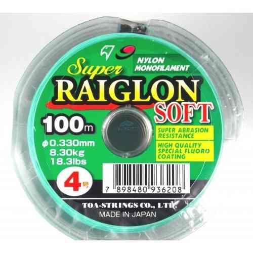 Linha Monofilamento Marine Sports Raiglon Soft 0,23mm 10lb/4,45Kg - 100 Metros  - Life Pesca - Sua loja de Pesca, Camping e Lazer