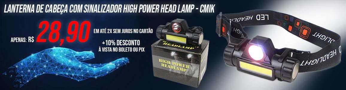 lanterna de cabeça cmik