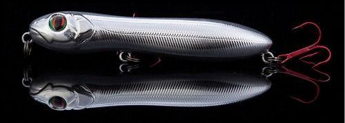 Kit 5 Iscas Artificiais De Superfície Estilo Zara 10cm 14,5gr  - Life Pesca - Sua loja de Pesca, Camping e Lazer