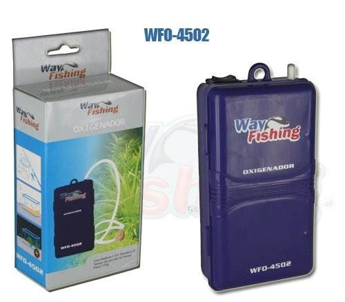 Oxigenador P/ Iscas Vivas Air Pump WFO-4502 - Way Fishing
