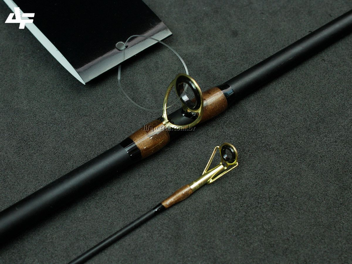 2 Varas Para Carretilha Albatroz Topaz 1,50m e 1,68m 6-12Lb - 2 Partes  - Life Pesca - Sua loja de Pesca, Camping e Lazer