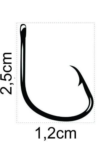 Anzol Mutsu Circle Hook Nº 2/0 Black - Marine Sports - 30 Peças  - Life Pesca - Sua loja de Pesca, Camping e Lazer