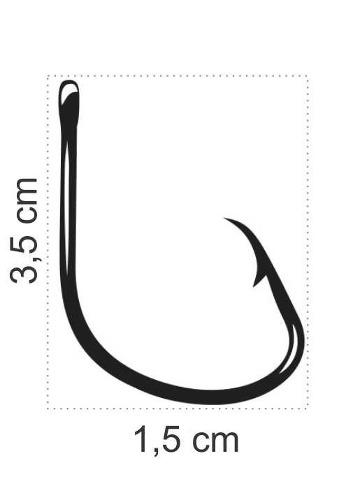 Anzol Mutsu Circle Hook Nº 4/0 Black - Marine Sports - 20 Peças  - Life Pesca - Sua loja de Pesca, Camping e Lazer