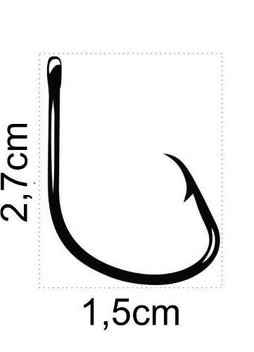 Anzol Mutsu Circle Hook Nº 3/0 Black - Marine Sports - 20 Peças  - Life Pesca - Sua loja de Pesca, Camping e Lazer