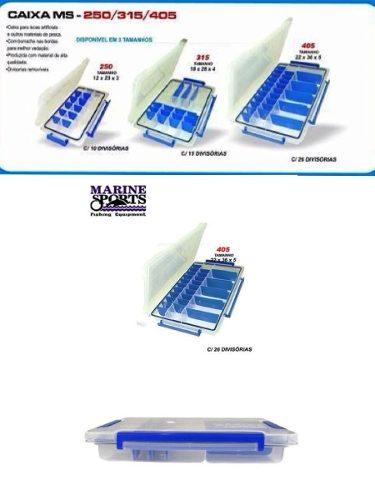 Estojo MS 405 Caixa/Box Impermeável - Marine Sports  - Life Pesca - Sua loja de Pesca, Camping e Lazer