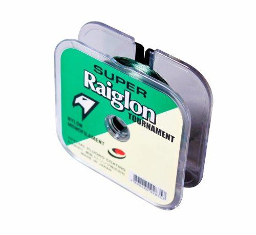 Linha Monofilamento Super Raiglon 0,370mm 30lbs/13,82kg - 100 Metros  - Life Pesca - Sua loja de Pesca, Camping e Lazer