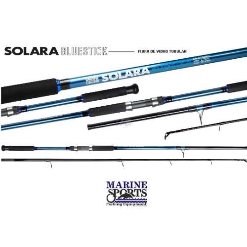 Vara Para Molinete Marine Sports Solara Redstick e Bluestick (2,40m) 12-25lb 2p