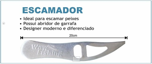 Escamador De Peixe - Way Fishing