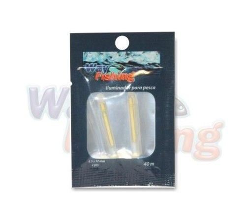 Iluminador P/ Pesca Way Fishing 4.5x37mm - Cartela 02 Unidades