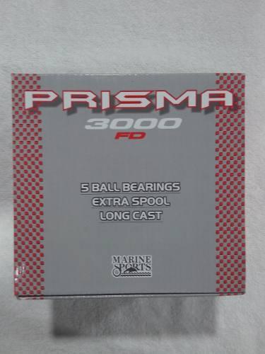 Molinete Prisma 3000 - 5 Rolamentos - Marine Sports  - Life Pesca - Sua loja de Pesca, Camping e Lazer