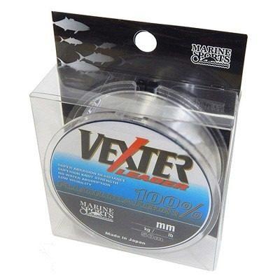 Linha Fluorcarbono Vexter Leader 0,37mm 17,00lb/8kg - 50 Metros  - Life Pesca - Sua loja de Pesca, Camping e Lazer
